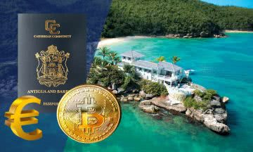 Antigua and Barbuda CBI program now accepts cryptocurrency and euro