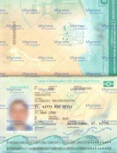 Saint Kitts and Nevis passport_Migronis