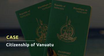CASE: CITIZENSHIP OF VANUATU