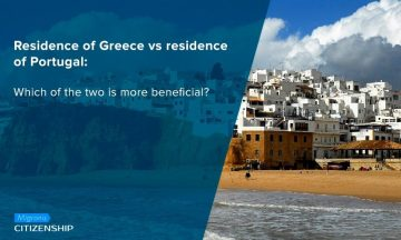 Residence of Greece vs residence of Portugal: Which of the two is more beneficial?