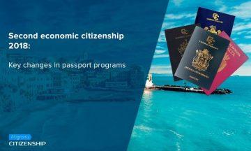 Second economic citizenship 2018: Key changes in passport programs