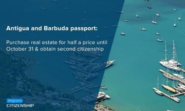 Antigua and Barbuda passport: Purchase real estate for half a price until October 31 & obtain second citizenship