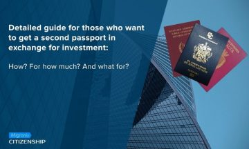 Detailed guide for those who want to get a second passport in exchange for investment: How? For how much? And what for?