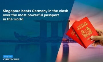 Singapore beats Germany in the clash over the most powerful passport in the world