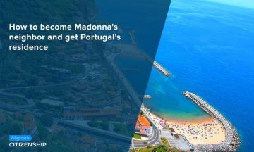 How to become Madonna's neighbor and get Portugal's residence