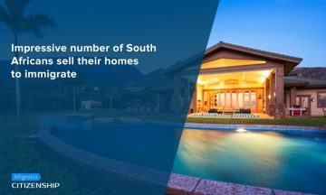 Impressive number of South Africans sell their homes to immigrate