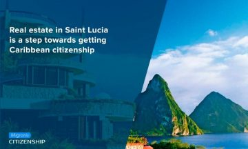 Real estate in Saint Lucia is a step towards getting Caribbean citizenship